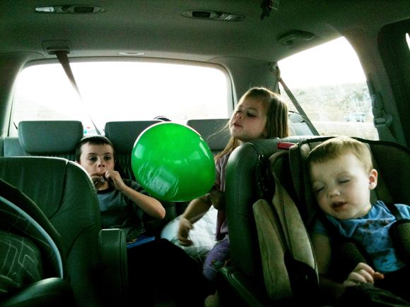 Backseat shuffle